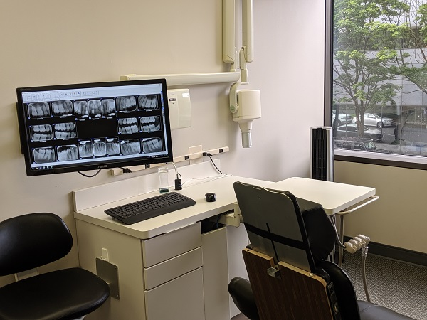 Digital x-rays at Geelan Dental Care